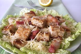 Рецепт: Салат Жена Цезаря