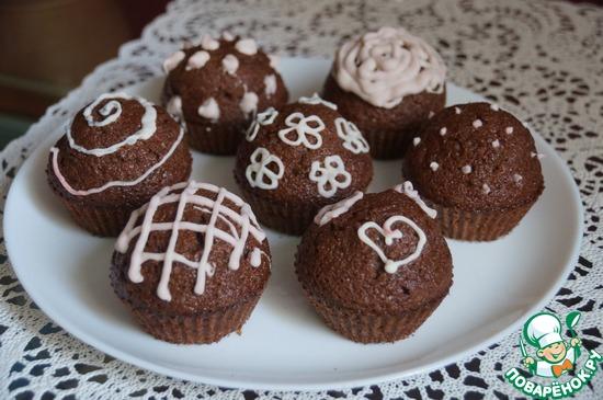 Очень шоколадный кекс Вероника