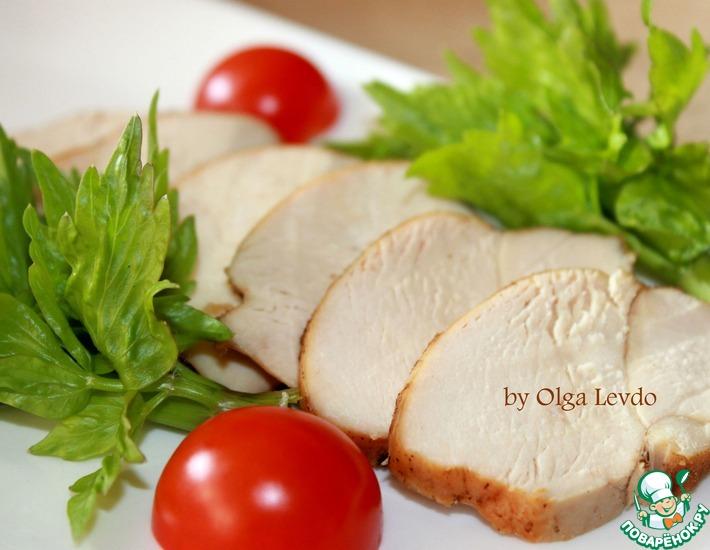 Рецепт: Копчёные куриные грудки в домашних условиях
