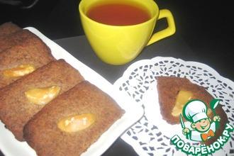 Рецепт: Шоколадное печенье с бразильским орехом