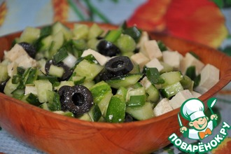 Рецепт: Салат с тофу