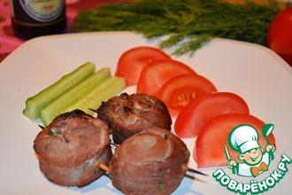 Рецепт: Улитки из свинины