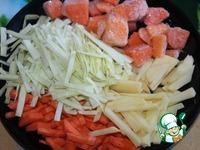 Овощной суп с яблоками ингредиенты