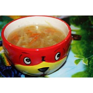 Овощной суп с яблоками