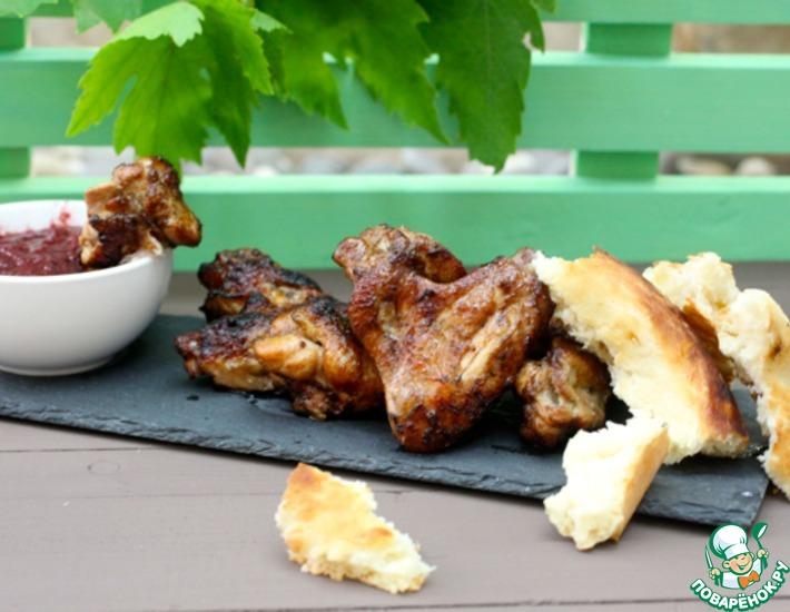 Рецепт: Азиатский маринад для куриных крыльев и не только