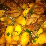 Ребрышки с картофелем в мультварке