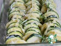 Запеченный картофель с кабачком ингредиенты