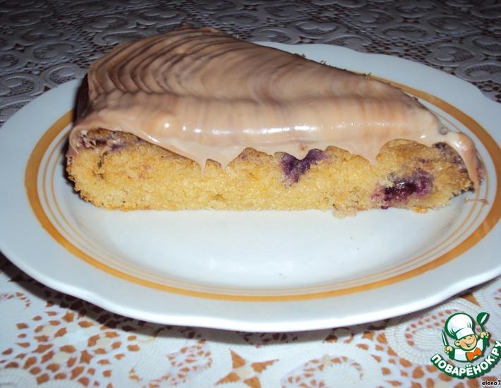 Рецепт: Тортик Чeрные жемчужинки