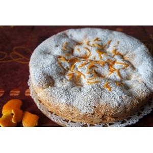 Пирог с апельсинами Нежность