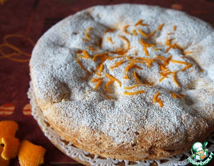Рецепт: Пирог с апельсинами Нежность