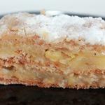 Венгерский насыпной яблочный пирог в мультиварке