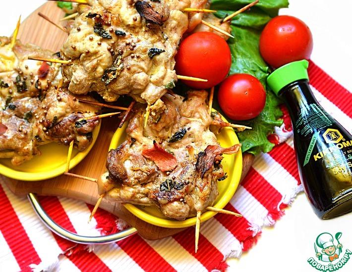 Рецепт: Окорочка Особенные на пикник