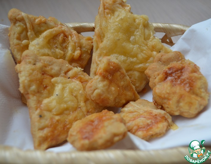 Рецепт: Сырное печенье