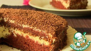 быстрый торт на кефире рецепт с фото