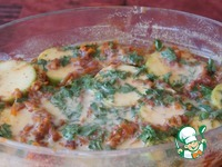 Сырно-кабачковая запеканка ингредиенты