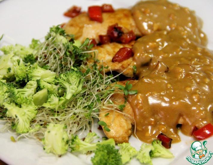 Рецепт: Куриная грудка на гриле по-вьетнамски