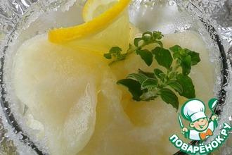 Рецепт: Сорбет лимонный