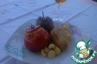 Рецепт: Фаршированные Овощи ЕМИСТА