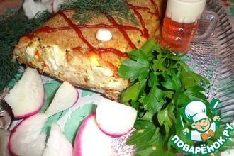Рецепт: Рыбно-рисовый рулет