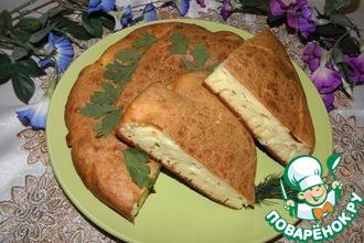 Рецепт: Пирог с брынзой Баница