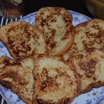 Сладкие гренки Булочники на завтрак