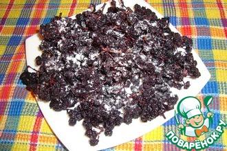 Рецепт: Сухое варенье из черноплодной рябины