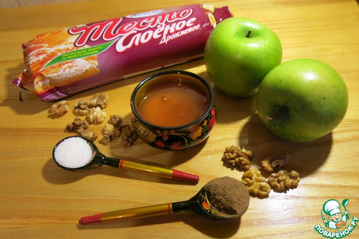 """Запеченные яблоки """"Яблочный пирог"""""""