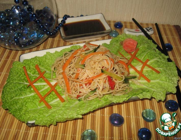Рецепт: Салат из фунчезы по-корейски