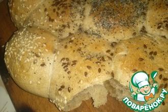 Рецепт: Семейные булочки-хлебцы