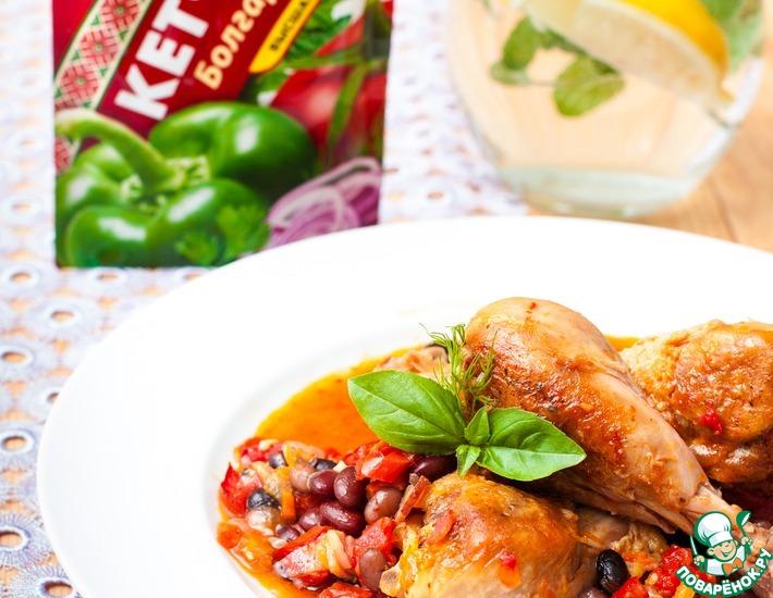 Рецепт: Цыпленок по-умбрийски