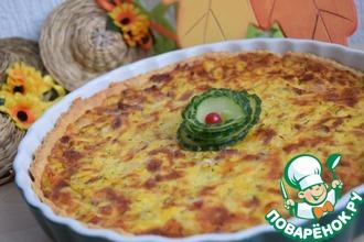 Рецепт: Осенний тыквенный киш