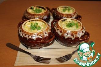 Рецепт: Картофель в горшочках Импровизация