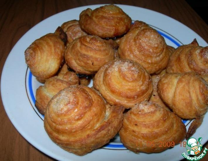 булочки домашние сладкие рецепт с фото поваренок
