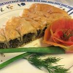 Пирог со шпинатом и творогом Спанакопита