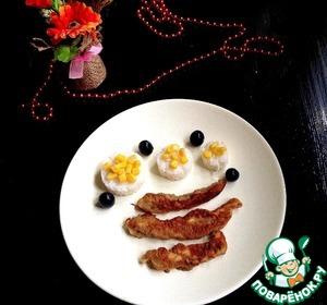 Рецепт Куриная грудка в грибном кляре