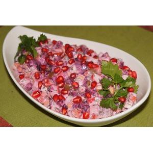 Салат Жизнь в розовом свете