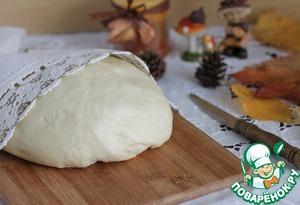 Yeast dough on the mayonnaise