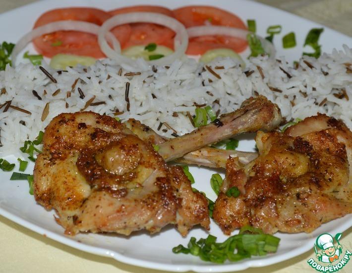 Рецепт: Бабочки из куриных ножек