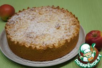 Рецепт: Яблочный пирог Катруся