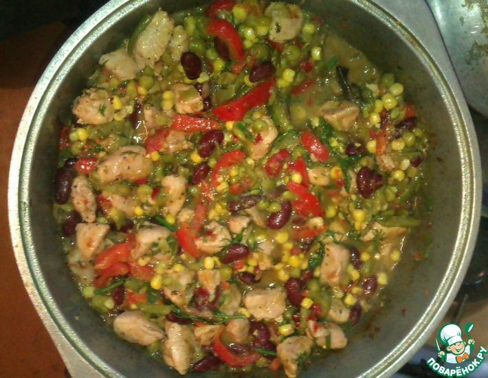 Рецепт: Индейка по-итальянски