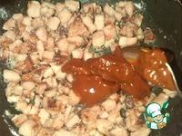 Подлива с томатной пастой и колбасой ингредиенты