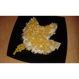 Салат Желтый лист кленовый