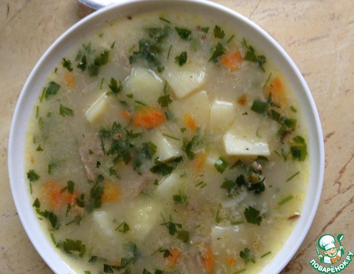 Рецепт: Суп На здоровье