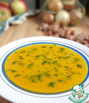Рецепт Морковно-яблочный суп-пюре