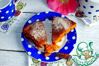 Рецепт: Рассыпчатый томатный пирог