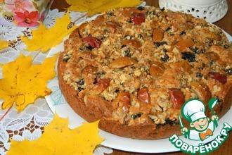 Рецепт: Осенний пирог