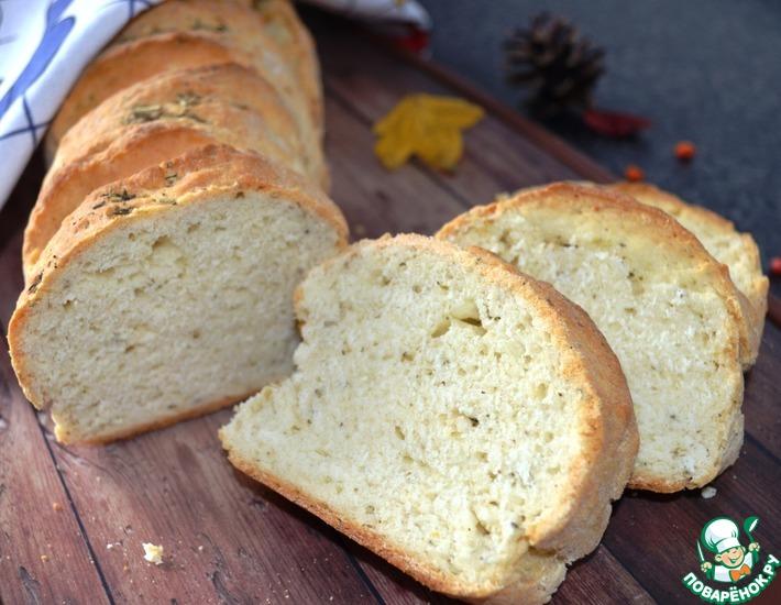 Рецепт: Чесночный итальянский хлеб