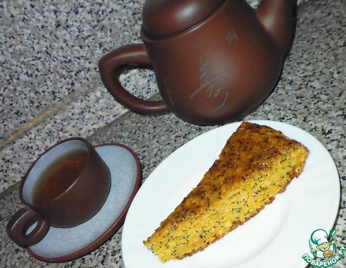 Рецепт: Морковный пирог с маком