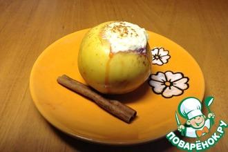Рецепт: Печеные яблоки С сюрпризом