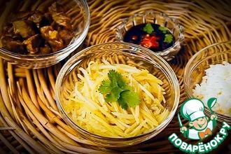 Рецепт: Камдича-картофельный салат